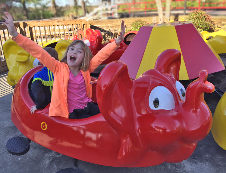 Crazy Elephants Ride - Go-Karts Plus - Williamsburg, VA Family Fun & Birthdays