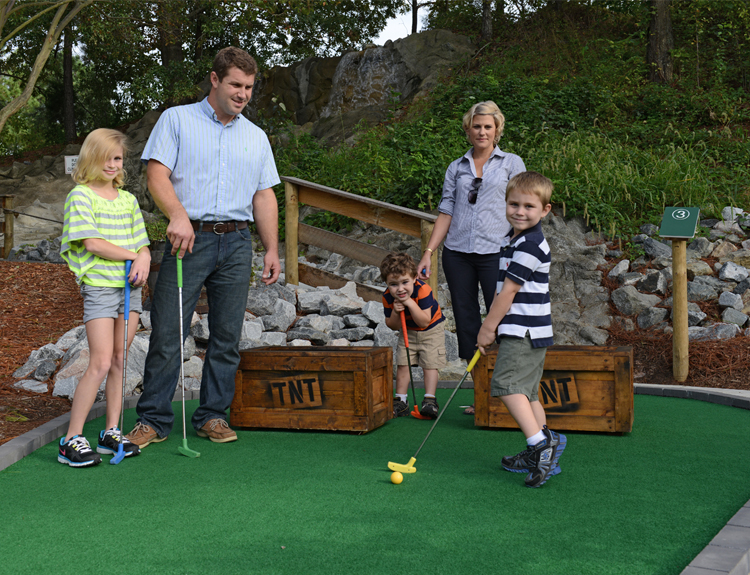 Gold Rush Mini Golf - Go-Karts Plus - Williamsburg, VA Family Fun & Birthdays