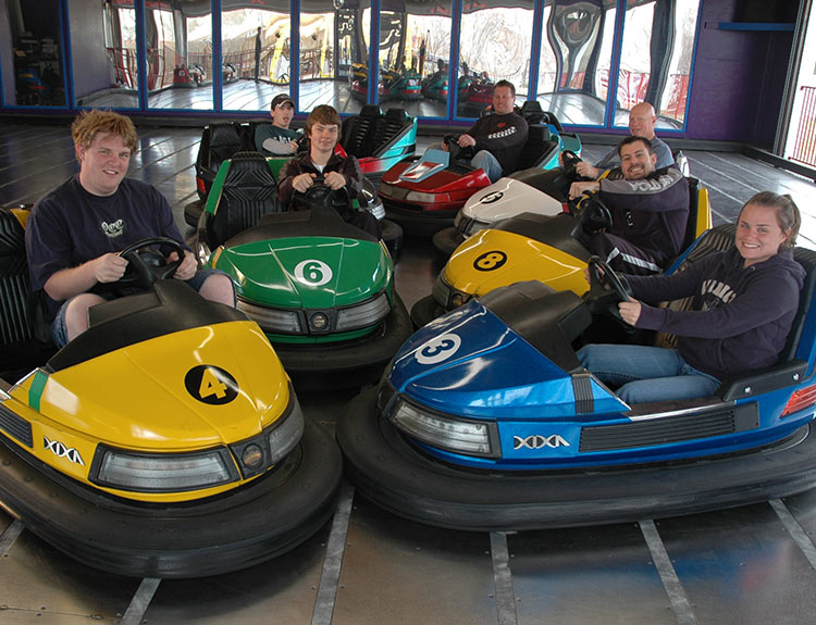 bumper cars gokarts plus williamsburg family fun center